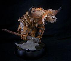 Paul Bonner Minotaur Finished 3 by RavendarkCreations.deviantart.com on @deviantART