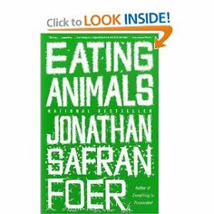 Author wrote this book after having children, he set of on an adventure to research how food is produced, Especially meat, he was surprised by what he discovered and shared his information in this book #eating #animals #vegetarian
