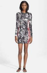 Elizabeth and James 'Mailyn' Palm Print Body-Con Dress