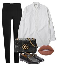 Untitled #674 by annap-style on Polyvore featuring polyvore, fashion, style, T By Alexander Wang, Gucci, Lime Crime and clothing
