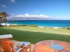 House on the beach, Maui, Hawaii Aloha Hawaii, Coastal Living, My Dream, Luxury Homes, Beautiful Homes, Beach House, Outdoor Blanket, Beach Vacations, Island