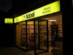 Imagen exterior de la librería Espacio Lector Nobel Villamuriel
