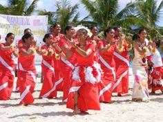 Celebrating Flag Day in AMERICAN SAMOA.