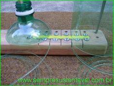 Como fazer um filetador de garrafa PET | Artesanato passo a passo!