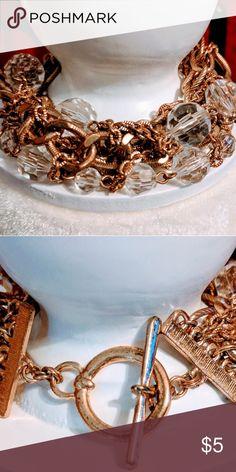 Gold bracelet Ring clasp Jewelry Bracelets