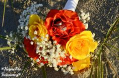 Wedding bouquet by Reynolds Treasures as part of an elopement package!