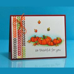 Lawn Fawn - So Thankful stamps