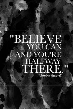 Believe you can // shutterbean