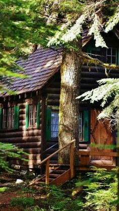 Cabin in The Woods by bonnie