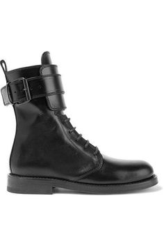 Ann Demeulemeester - Leather Boots - Black - IT36.5
