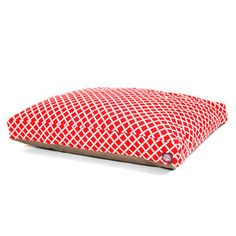 Bamboo Rectangle Bed L Red now featured on Fab.