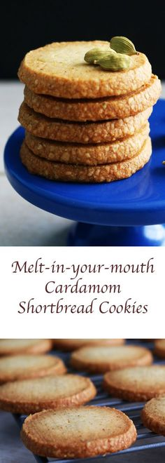 #snack #cookie #shortbread #shortbreadcookies #indian #indianrecipe #indiancookies #cardamom #cardamomcookie #indianspice #spices #meltinyourmouth http://www.kitchenathoskins.com/2017/03/03/melt-in-your-mouth-cardamom-shortbread-cookies/