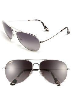 Maui Jim 'Mavericks' 61mm Aviator Sunglasses | Nordstrom