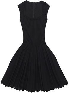Azzedine Alaia Black Dress