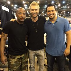 Antwon Tanner, Chad Michael Murray, and Michael Copon