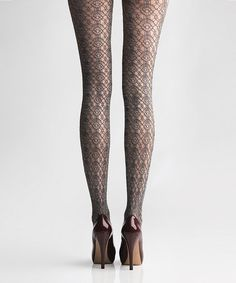 Look what I found on #zulily! Dark Shadow California Boucle Tights by Via Spiga #zulilyfinds