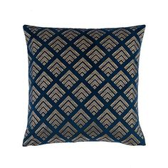 Wide range of All Cushions And Throws available to buy today at Dunelm, the UK's largest homewares and soft furnishings store. Navy Blue And Grey Living Room, Blue Living Room Decor, Living Room Cushions, Art Deco Bedroom, Master Bedroom, Velour Fabric, Cover Style, Art Deco Home, Living Room