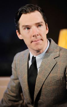 Benedict Cumberbatch... Oh my God. Not only him, but that suit. Perfect.