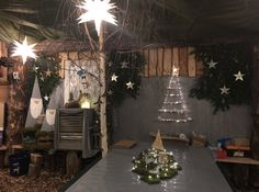 Table Decorations, Furniture, Home Decor, Christmas, Decoration Home, Room Decor, Home Furnishings, Home Interior Design, Dinner Table Decorations