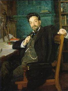 Richard Bergh (Swedish, 1858-1919) : Karl Warburg, 1905. Göteborg Konstmuseum, Sweden.
