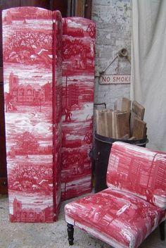 Timorous Beasties Fabric - Glasgow Toile