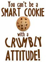 Smart Cookie. Found at technologyrocksseriously.com  in the free printables great sight!
