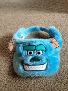 Plush Adjustable Sully Hat - Monsters Inc