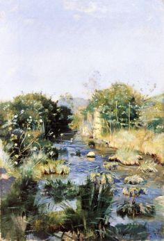 Ferdinand Hodler River Landscape