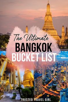 The ultimate Bangkok bucket list: This Bangkok Bucket List Will Take You Off-The-Beaten-Path. Tons of amazing things to do in Bangkok. and unusal spots tourist don't visit. What to do in Bangkok, where to eat, and more. #bangkok #thailand | Bangkok Travel Tips | Bangkok Bucket List | What to do in Bangkok | Top sights & attractions not to miss in Bangkok | Bangkok travel guide | Bangkok Travel Guide, Thailand Travel Tips, Visit Thailand, Bangkok Thailand, Asia Travel, Thailand Nightlife, Dubai Nightlife, Bangkok Trip, Bangkok Itinerary