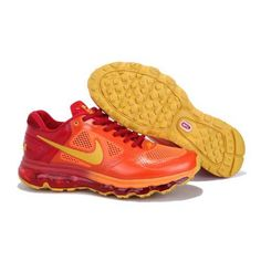 Dealextreme Nike Air Max 2013 Shoes Orange Red New003
