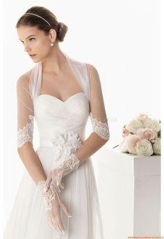 Trägerlos Elegante Brautkleider 2014 aus Chiffon