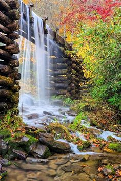 The Mingus Mill, Great Smoky Mountains National Park, USA