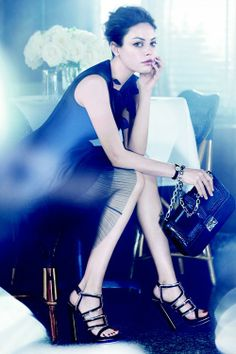 The Fashion Dealer: Mila Kunis: Dior's New Campaign Girl