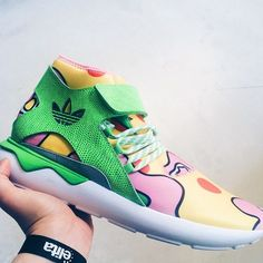 Here's a first look at the upcoming Jeremy Scott x adidas Originals Tubular Runner.