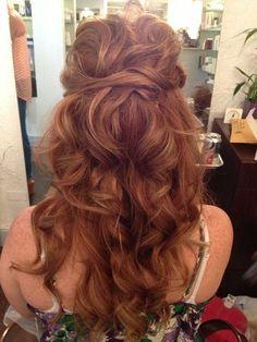 Astonishing Updo Wedding And My Hair On Pinterest Short Hairstyles Gunalazisus