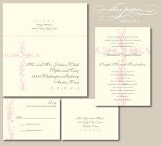 Christian Wedding Invitation - Virtuous