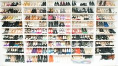 Now that's what we call a shoe closet. http://www.thecoveteur.com/elizabeth_stewart