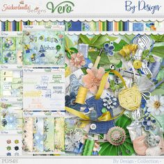 Collections :: B :: By Design by SnickerdoodleDesigns & Vero the French Touch :: By Design Collection