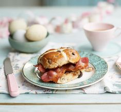 Take your bacon sandwich to the next level for Easter. Trust us when we say that this mix of sweet and savoury is the ultimate spring brunch treat.