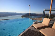 my favourite view of the Okanogan.the infinity pool at Sparkling Hill resort Cityscape Photography, Canadian Travel, Nice Place, Outdoor Furniture, Outdoor Decor, Cool Places To Visit, Sun Lounger, Infinity, Resorts