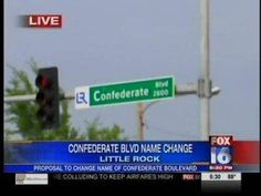 Name Change Considered for Little Rock's Confederate Blvd