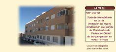 CM461 La Roda. Albacete  Sociedad inmobiliaria en venta