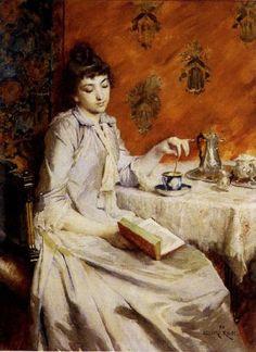 Edouard John E. Ravel (French, 1847-1920)