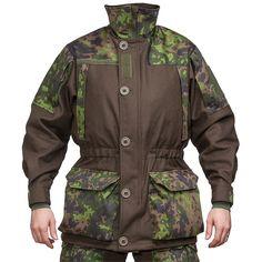 Särmä TST wool jacket, M05 woodland camo - Varusteleka.com