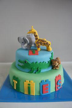 Duplo Lego Zoo Cake  Lievelingstaarten: Foto's van Taarten