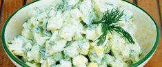 Feta, Potato Salad, Potatoes, Cheese, Ethnic Recipes, Potato Salad With Egg, Yogurt, Eggs, Cooking