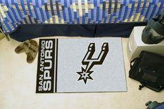 NBA - San Antonio Spurs Uniform Inspired Starter Rug 19x30