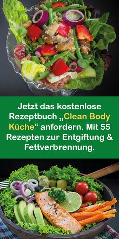 """Secure your free edition of """"Clean Body Kitchen"""" now (you pay . - Secure your free edition of """"Clean Body Kitchen"""" now (you only pay for packaging and shipping). Low Carb Recipes, Cooking Recipes, Healthy Recipes, Delicious Recipes, Clean Eating, Healthy Eating, Maila, High Protein Low Carb, Water Recipes"""