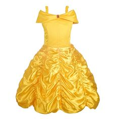 Dressy Daisy Girls' Princess Belle Costumes Princess Dress Up Halloween Costume Size Best Halloween Costumes & Dresses USA Little Girl Halloween Costumes, Halloween Outfits, Girl Costumes, Halloween Fashion, Dress Up Shoes, Dress Up Outfits, Girl Outfits, Princess Dress Up Clothes, Princess Dresses