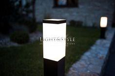 Su-ma INOX lampa zewnętrzna stojąca średnia - Sklep Light & Style